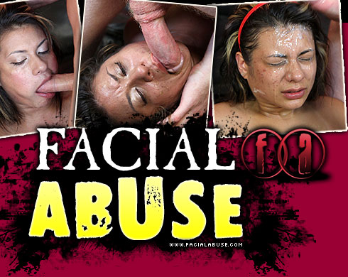 April Sparxxx Destroyed On Facial Abuse