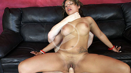 April Sparxxx Spreads Her Legs Wide And Is Nailed Hard